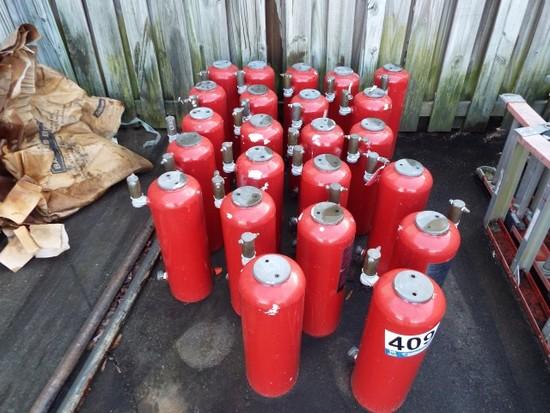 Ansul Fire Suppression Bottles