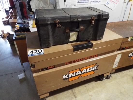 Knaack Job Site Tool Box on Casters
