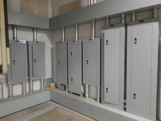 7 Siemens Misc. P1 Breaker Panels