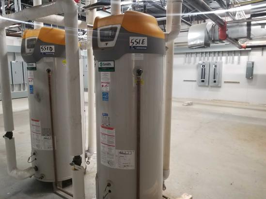 AO Smith Sconcone 100 Gal. Hot Water Heater
