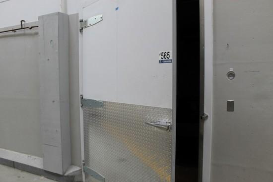 Crown Tonka Walk-In Cooler Doors w/Insulated Room