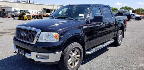 2005 Ford F150 Extended Cab 4x4 Pickup Truck