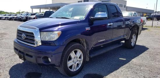2007 Toyota Tundra 4x4 Extended Cab Pickup Truck