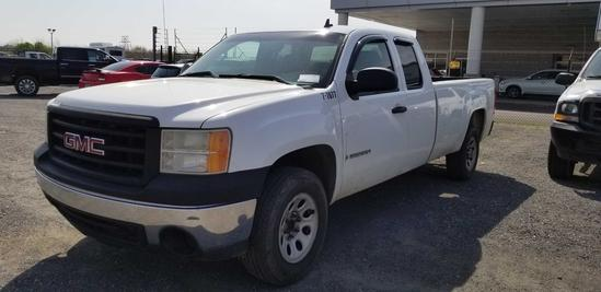 2007 GMC Sierra Extended Cab Pickup Truck (Unit #7-7077)