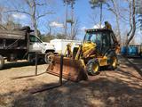 2002 Case 590 Super M 4x4 Loader Backhoe