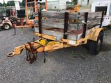8' S/A Stakebody Trailer (Unit #5730533)
