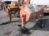 Essick EM-120SM Towable Cement Mixer