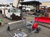 Truck Bed Mount Arrow Board/Solar Powered Compressor