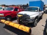 2001 Dodge 1500 Plow Truck
