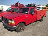 1996 Ford F250 Service Truck (Unit # 8361)(Inoperable)