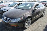 2010 Volkswagen CC Sedan (INOPERABLE)