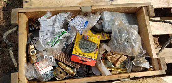 Ammunition Boxes; Automotive Repair Items