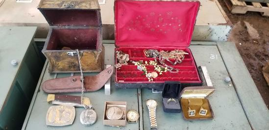 Jewelry; Knife; Watches; Pocket Watches
