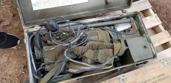 Bulova Watch Co. U.S. Army Corps of Engineers Mine (B) Detecting Set