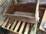 Wooden Infant Cradle