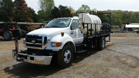 2007 Ford F-750 Spray Truck (Unit # T71R)