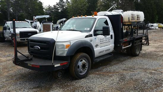 2011 Ford F-550 Spray Truck (Unit #T52R)