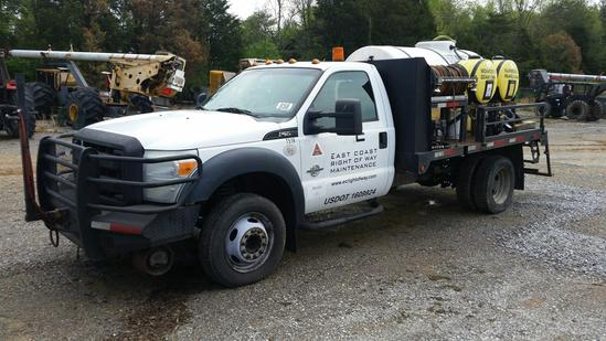 2011 Ford F-550 Spray Truck (Unit #T51R)