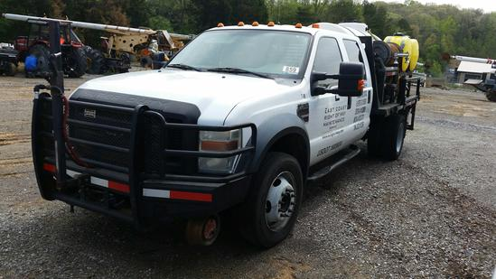 2008 Ford F-450 Crew Cab Spray Truck (Unit #T41R)