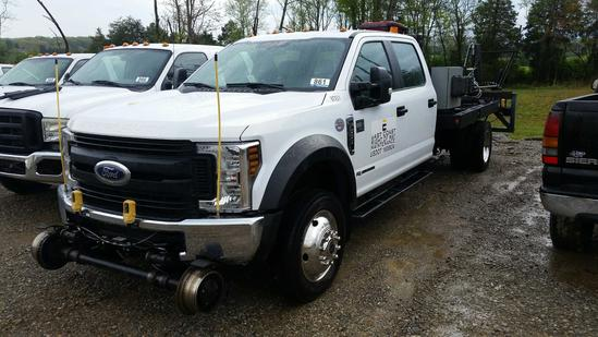 2018 Ford F-550XL 4WD Crew Cab Bridge Truck (Unit #BTX51)