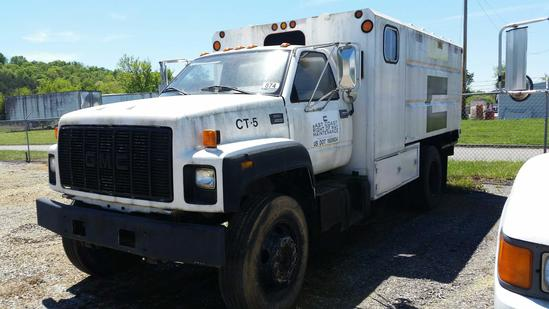 2002 GMC C6500 Chip Truck (Unit #CT-5)