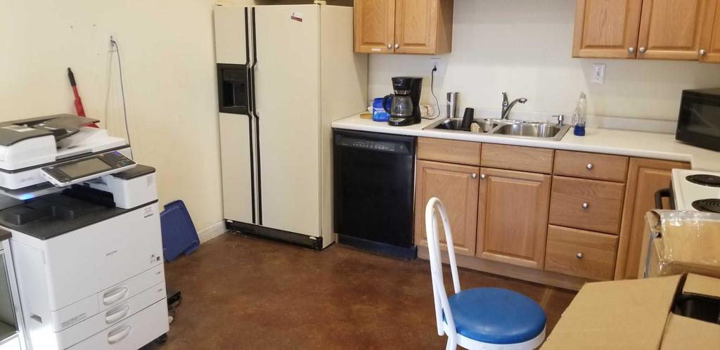 Content of Kitchen Area
