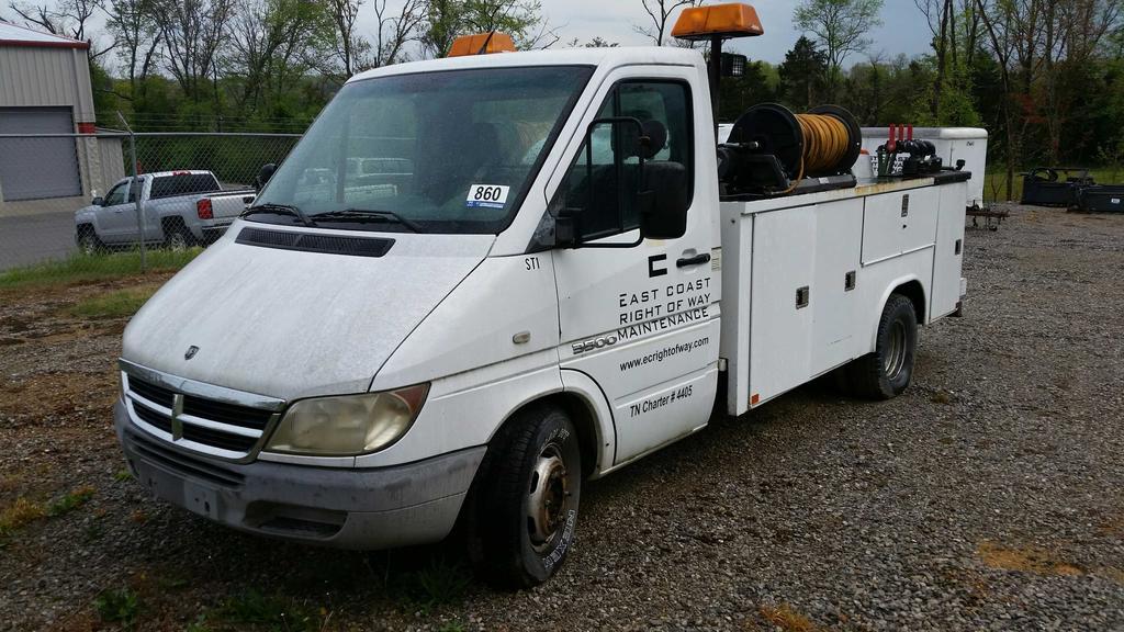 2004 Dodge 3500 Sprinter Utility Truck (Unit #ST1)