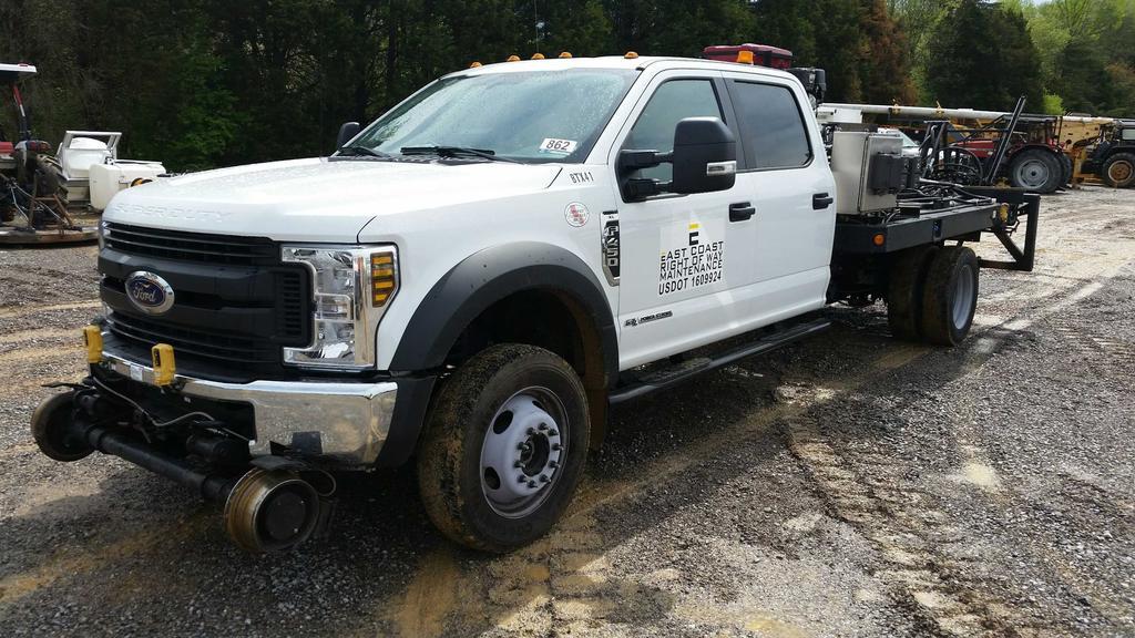 2018 Ford F-450 Crew Cab 4x4 Bridge Truck (Unit #BTX41)