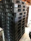 (12) 40''x48'' Plastic Pallets