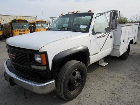 1992 GMC Sierra 3500 Utility Truck