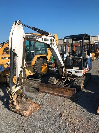 334G Bobcat Excavator with Thumb