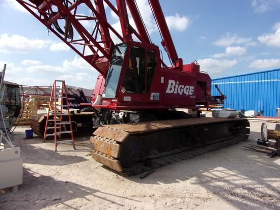 1999 Manitowoc 777 Series I, II, 200 Ton Conventional Lattice-Boom Crawler Crane (Unit #200270)