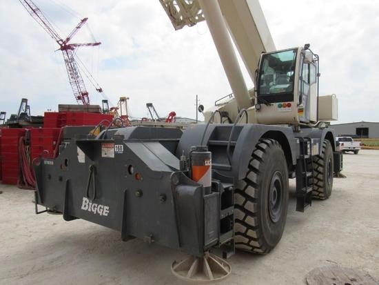 2014 Terex Quadstar 1100 110 Ton 4x4x4 Rough Terrain Crane (Unit #BE110106)