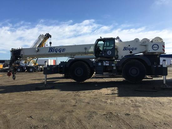 2013 Terex Quadstar 1100 110 Ton 4x4x4 Rough Terrain Crane (Unit #BE110105)