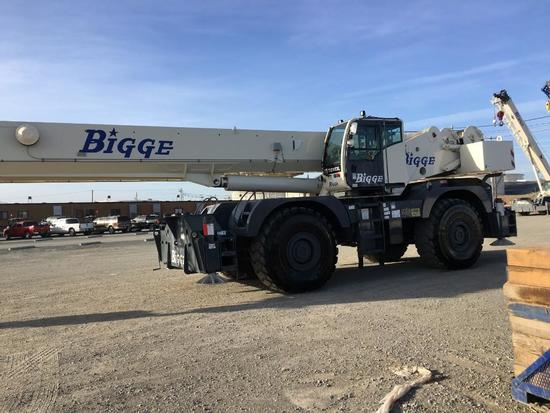 2013 Terex Quadstar 1100 110 Ton 4x4x4 Rough Terrain Crane (Unit #BE110101)