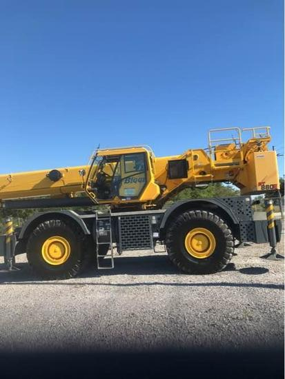 2015 Grove RT880E 80 Ton 4x4x4 Rough Terrain Crane (Unit #BE8059)