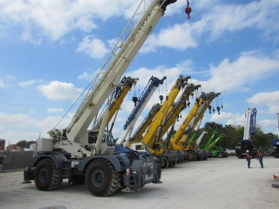 2012 Terex RT670 70 Ton 4x4x4 Rough Terrain Crane (Unit #BE7004)