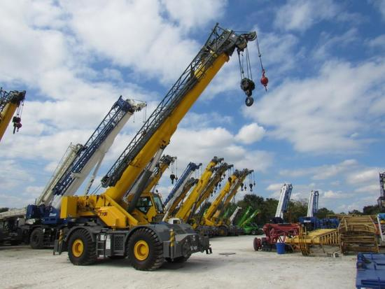 2016 Grove RT770E 70 Ton 4x4x4 Rough Terrain Crane (Unit #BE7013)