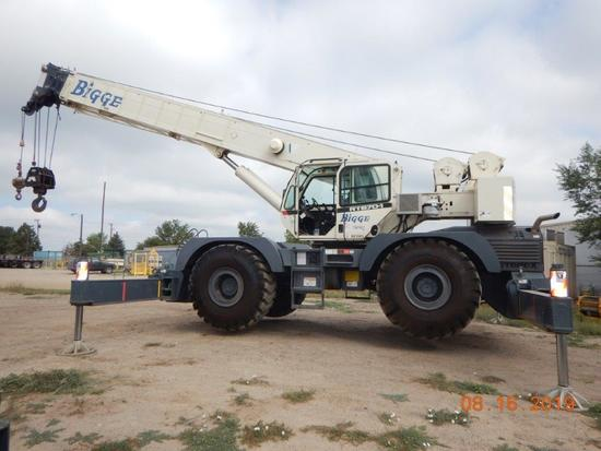 2012 Terex RT670 70 Ton 4x4x4 Rough Terrain Crane (Unit #BE7003)
