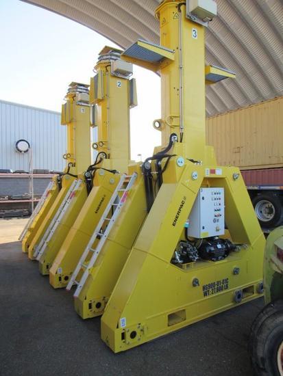 2016 Enerpac SBL900 900 Ton Gantry Crane System (Unit #HG900-01-01A, B, C, D)