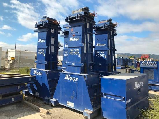 1998 Lift Systems 500 Ton Gantry Crane System (Unit # HG507)