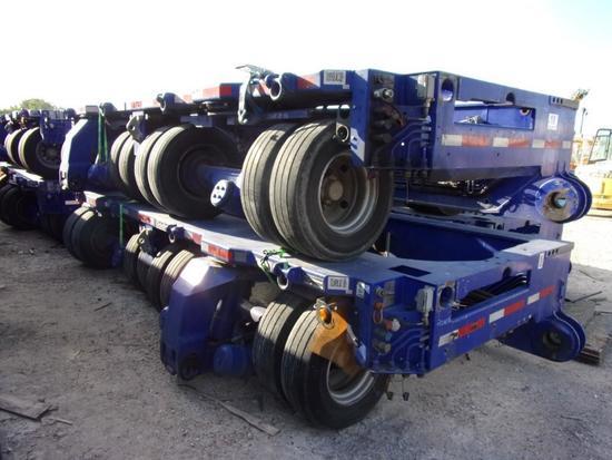 Goldhofer THP/CA 12 Line Split Dual Lane Hydraulic Platform Trailer