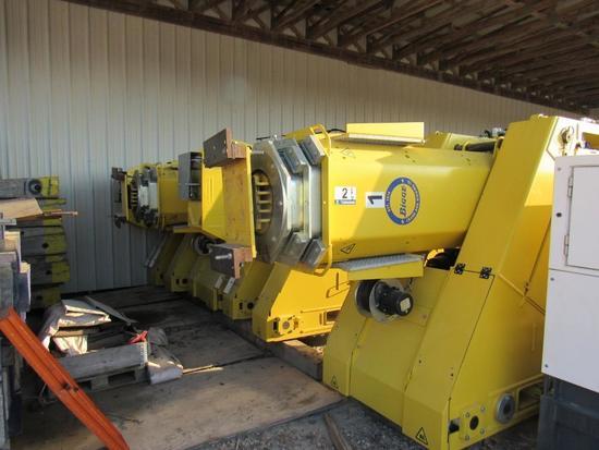 2016 Enerpac SBL900 900-Ton Gantry Crane System (Unit #HG900-01-02A, B, C, D)