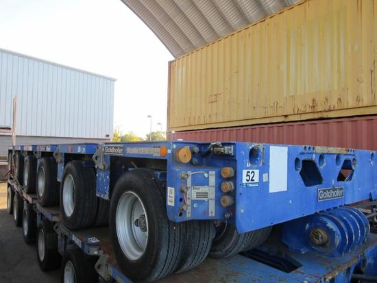 2010 Goldhofer PST/SL-E 6 Line E-Steer Hydraulic Platform Trailer