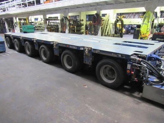 Goldhofer PST/SL-E 18 Line E-Steer Hydraulic Platform Trailer