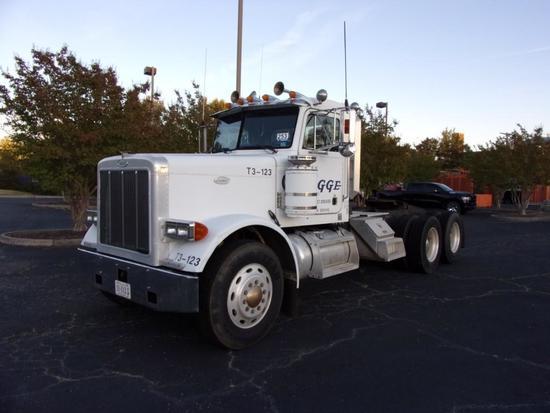 1997 Peterbilt 379 T/A Day Cab Road Tractor (Unit #T3-123)