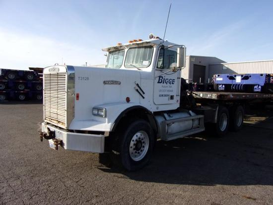 1987 Freightliner FLC12064ST T/A Day Cab Winch Tractor (Unit #T3-128)