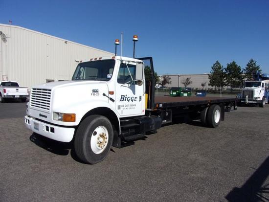 2001 International 4700 S/A Flatbed Truck (Unit #FB29)