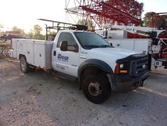 2006 Ford F550XL Service Truck (Unit #PU476)