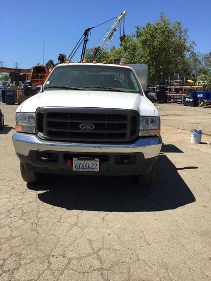 2002 Ford F550 XL Utility Truck (Unit #ST-8)